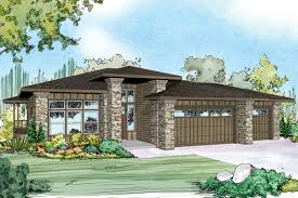 Two and a Half Men House Floor Plan  single floor home front    Prairie Style Homes House Plans