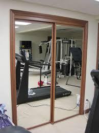 mirrored wardrobe doors hinged architecture ideas mirrored closet doors