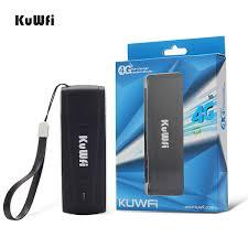 <b>KuWFi</b> Unlocked Pocket <b>4G LTE USB</b> Modem Router mobile WiFi ...