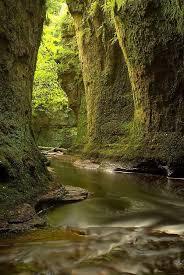 Finnich Glen - Loch <b>Lomond</b>, Scotland