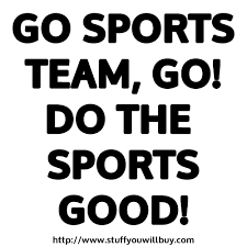 Image result for go sports!