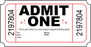 doc printable movie ticket invitations movie birthday invitation ticket templates printable movie ticket invitations