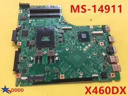 Original <b>MS 1491 MS 14911 FOR</b> MSI GE40 X460DX LAPTOP ...