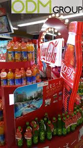 coca cola instore marketing unique pos display