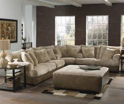 extra large sectional sofas brown