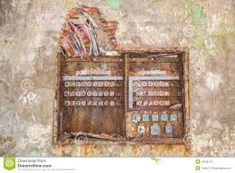 old rusty fuse box stock photo image 52035110 Old Fuse Box box broken fuse old old fuse box diagram