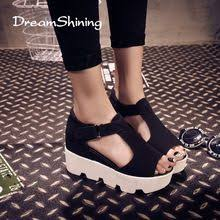 new 2015 summer T-strap Fashion <b>Women Shoes</b> PU Leather ...