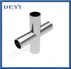 China <b>Sanitary SS304 Stainless Steel</b> Four-Way Pipe Equal Cross ...
