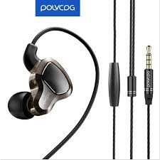 <b>POLVCDG</b> D6 PRO 4 Drivers In-Ear <b>Earphone</b> Heavy Deep Bass ...