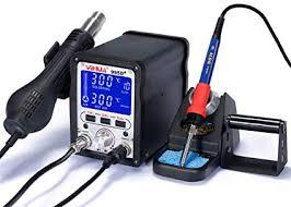 <b>YIHUA 995D+</b> Upgrade Vision Pluggable Hot Air <b>Soldering Station</b> ...