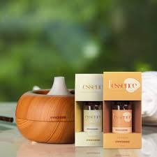 Brume <b>Aroma Diffuser</b> & Humidifier + 2x L'essence - <b>essential oils</b> ...