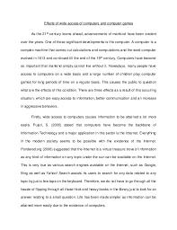 computers essay english  essay