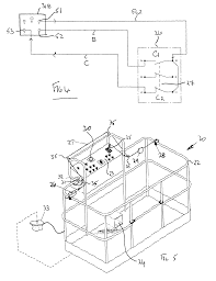 patent us8490746 aerial lift with safety device google patents on simon 3 wiring diagram