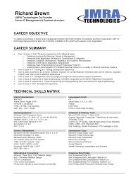 the perfect sample resume objectives shopgrat examples of resume objectives for any job technical career summary the