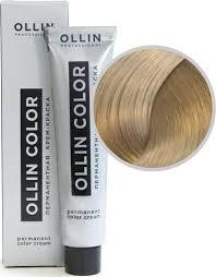 <b>OLLIN COLOR</b> 9.1 блондин пепельный 60мл <b>Перманентная</b> крем ...