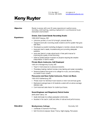 cv template for a musician resume template example cv format musician resume template