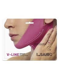 <b>Маска</b>-<b>бандаж для коррекции овала</b> лица L.SANIC V Line Smart ...