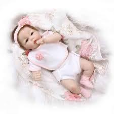 Nicery 18/20-22inch 45/50-<b>55cm Bebe Baby</b> Doll Reborn Soft ...
