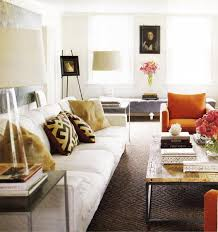 eclectic living room interior black