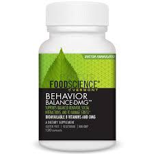 Диметилглицин, <b>Behavior Balance</b>-<b>DMG</b>, FoodScience, <b>120</b> кап ...