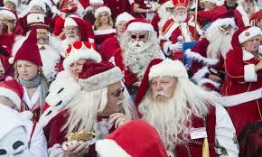 Risultati immagini per corsa dei Santa Claus