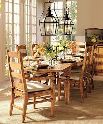 pottery barn style dining table: vintage style dining table decor design ideas pottery barn dining room table centerpieces floral high back