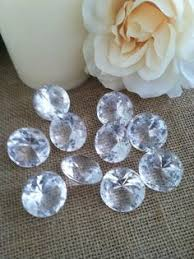 <b>26mm Acrylic</b> Diamond Drops/Charms With <b>Holes</b> - Table Scatter ...