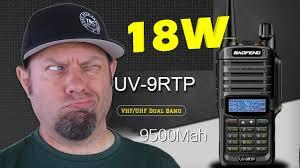 <b>Baofeng UV</b>-9R TP 18-watt Power Testing   <b>UV9R Plus</b> HT - YouTube