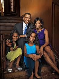 Risultati immagini per barack obama family