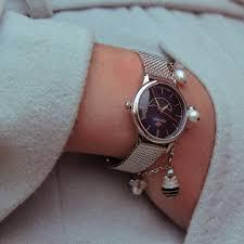 <b>Женские часы Jacques</b> Lemans с ремешком миланского плетения