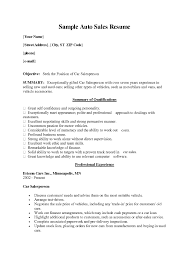 automotive s resumes info auto s resume objective