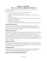 help writing analytical report formal example sawyoo com xianning it