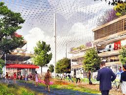 render of the proposed google campus plan by big and heatherwick studios credit google big heatherwick futuristic google hq
