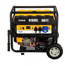<b>Бензиновый генератор Denzel PS</b> 90 EA (8000 Вт) — купить по ...