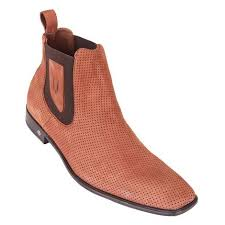Vestigium Cedron Suede <b>Leather Men's Chelsea</b> Boots