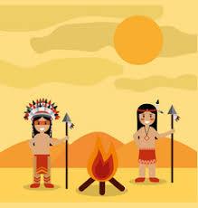 American Indians <b>Landscape</b> Vector Images (over 200)