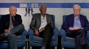 going in style exclusive movie interview morgan man going in style exclusive movie interview morgan man michael caine and aaron arkin