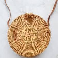 2019 <b>Round Straw Bags</b> Women <b>Summer</b> Rattan <b>Bag</b> Handmade ...