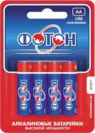 <b>Батарейка ФОТОН LR6</b> АА 4BL в Томске – купить по лучшей цене ...