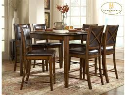 Tall Dining Room Sets Tall Dining Room Tables Home Design Ideas