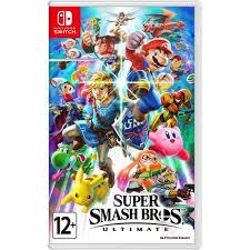 """<b>Видеоигра</b> """"<b>Super</b> Smash Bros Ultimate"""" для <b>Switch</b> — купить ..."""