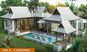 The Amazing home design blog  Thai house plans and designThai house plans and design
