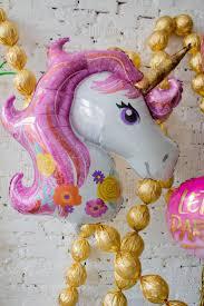 Розово золотые фольгированные шары с золотой <b>мишурой</b> ...