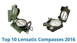 10 Best Lensatic Compasses 2016 - YouTube