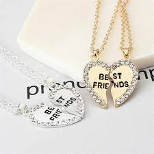 Detail Feedback Questions about <b>M MISM 2pcs</b> Heart Necklace ...