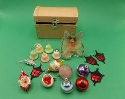 1950s <b>christmas decorations</b> | Etsy