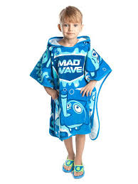 Детское пончо Poncho Mad Babbles <b>Mad Wave</b> 2821566 в ...