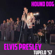 Colouring The Past - <b>ELVIS PRESLEY</b> - HOUND DOG (in <b>colour</b> ...