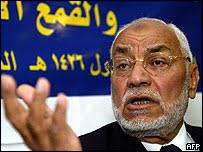 Mohammed Mehdi Akef of Egypt's Muslim Brotherhood - _41123561_akef203afp