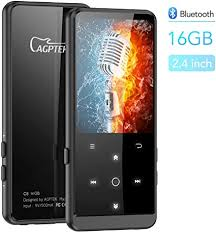 Support FM Radio Voice Recording E-Book Digital AGPTEK 16GB ...